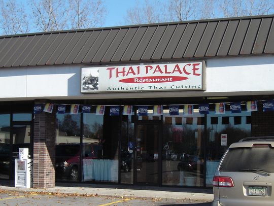Thai Palace Restaurant in Holland, Michigan